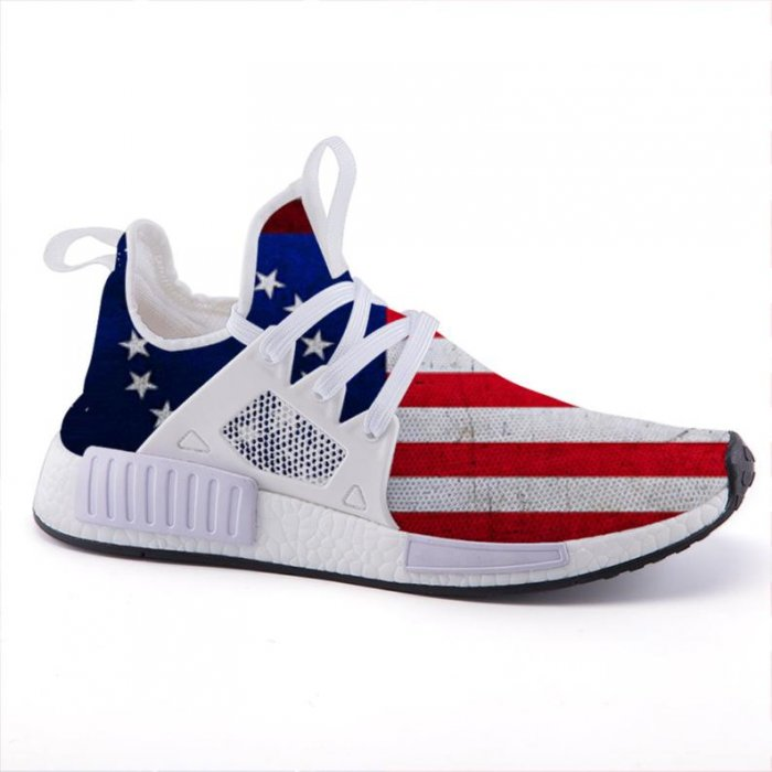 BETSY ROSS Flag Tennis Shoes